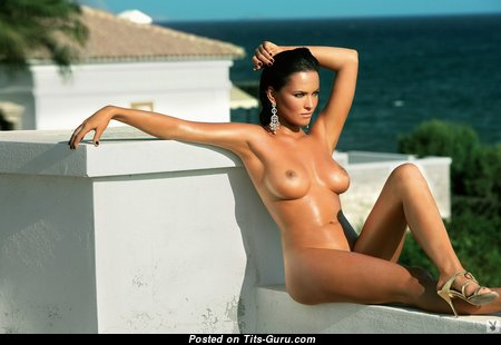 Lovely Glamour Unclothed Brunette (Hd Sexual Photo)