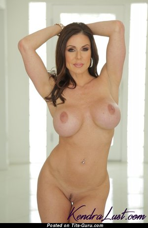 Image. Kendra Lust - sexy naked latina brunette with big boob photo