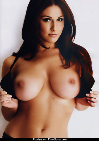 Image. Geena Mullins - topless brunette with big breast pic