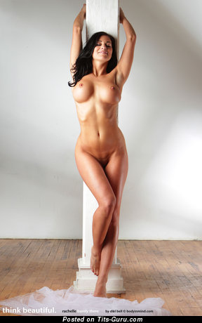 The Best Brunette with The Best Bare Round Fake Big Sized Tittes (Hd Sexual Pix)