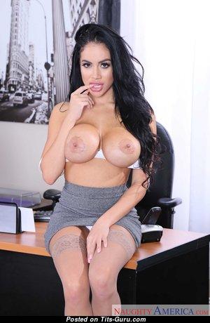 Victoria June - Delightful Latina Brunette Pornstar with Delightful Open Fake Chest (Hd Xxx Picture)