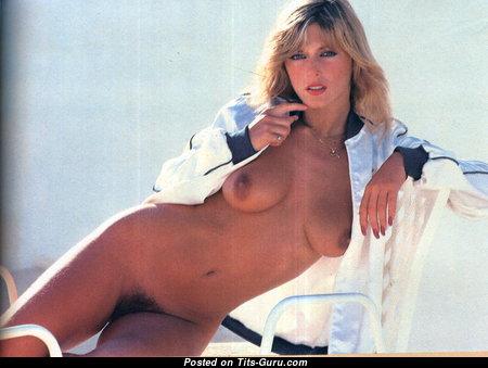 Sian Adey Jones - Superb Topless British, Welsh Blonde with Superb Open Natural D Size Tots (Vintage Hd Sex Wallpaper)