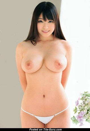 Amano Miyu - Superb Topless Asian Babe with Superb Bald Natural Firm Knockers (Hd Porn Photoshoot)