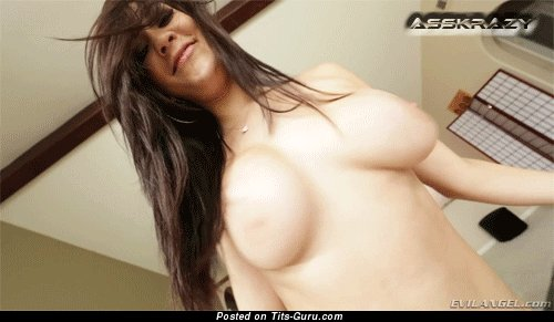 Image. Nude nice lady with big natural boobs gif