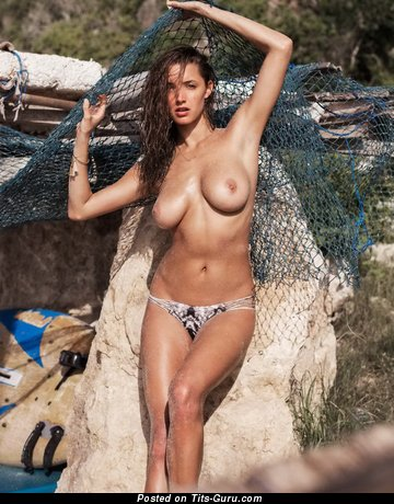 Alyssa Arce - nude amazing woman with medium natural tittys photo
