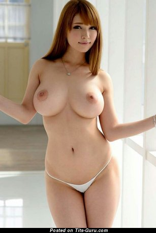Image. Tia Bejean - sexy nude asian brunette with medium natural tittys pic