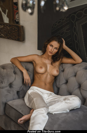 Anastasiya Primak - Sweet Topless Babe with Sweet Bare Real Mid Size Melons (Hd Sexual Picture)