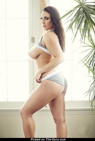 Image. Angela White - beautiful female with big boobies pic