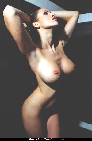 Ellen Sapori - Delightful Brazilian Playboy Brunette with Delightful Open Mega Tits (18+ Pic)