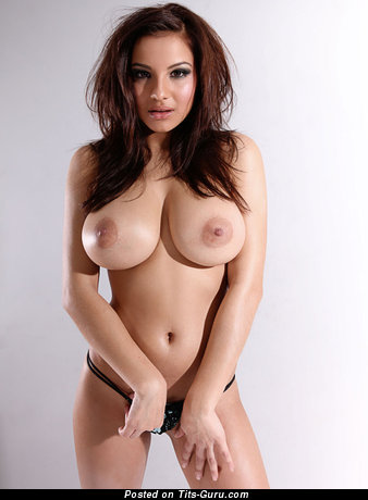Image. Lacey Banghard - sexy nude brunette with big tits photo