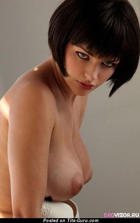 Image. Hot lady with big natural breast pic
