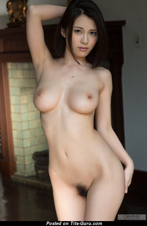 China Matsouka - Pretty Asian Brunette Babe with Pretty Nude C Size Boobs (Hd 18+ Photo)