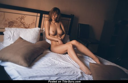Appealing Babe with Appealing Bare C Size Boobie (Hd Sex Photoshoot)