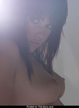 Image. Beautiful woman with medium natural boobies pic