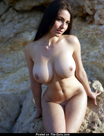 Image. Beautiful girl with big natural breast pic