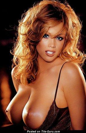 Christine Smith - Amazing American Playboy Honey with Amazing Nude Very Big Hooters (18+ Pic)