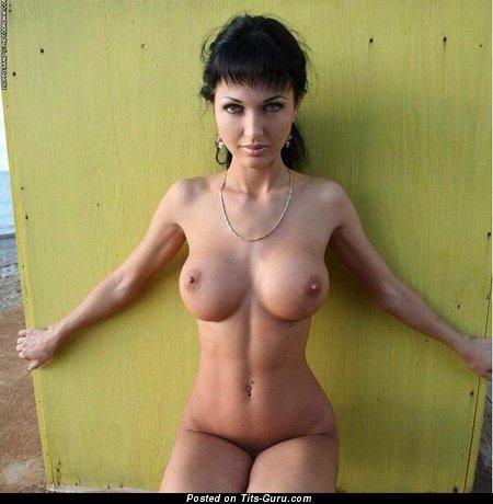 Image. Wonderful woman with big fake tittes pic