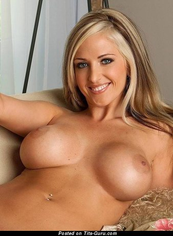 Image. Angel Carson - nude blonde with big tits image