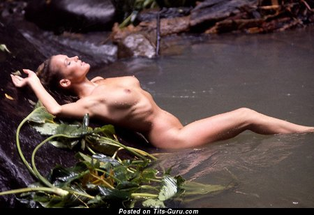 Image. Ursula Andress - nude beautiful female with medium natural breast image