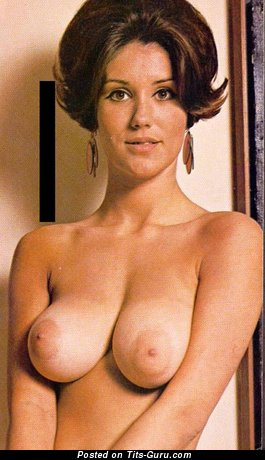 Image. Candy Earle - naked awesome female with big natural breast vintage