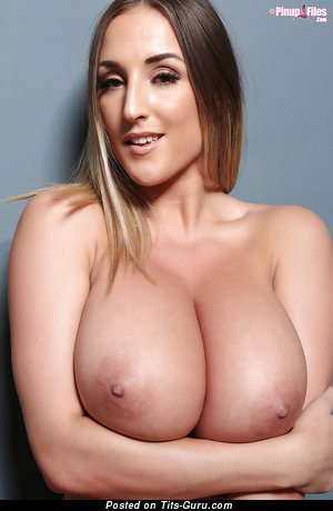 Image. Stacey Poole - naked awesome woman with huge natural tits photo