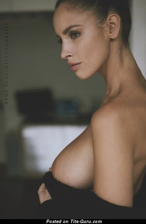 Image. Naked nice woman with big natural breast picture