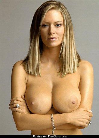 Naked nice female with big tittes photo