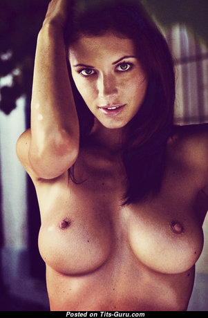 Orsolya Kocsis - Lovely Unclothed Brunette (Sexual Photo)