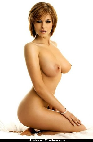 Image. Nude beautiful female with big natural boob pic