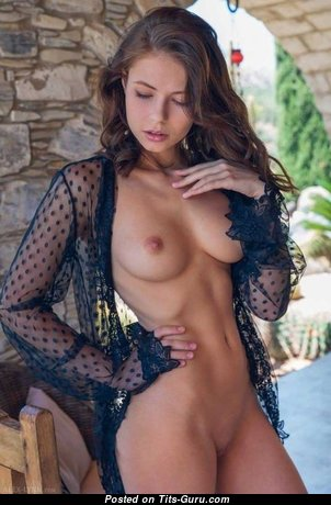 Hot Topless Babe & Babysitter with Hot Open Real Boobies (Sexual Image)