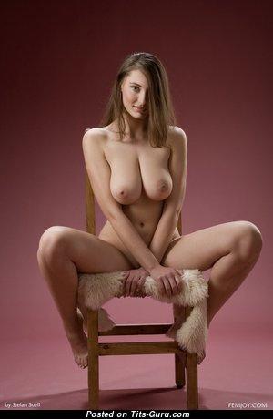 Wonderful Undressed Brunette (Hd Porn Picture)