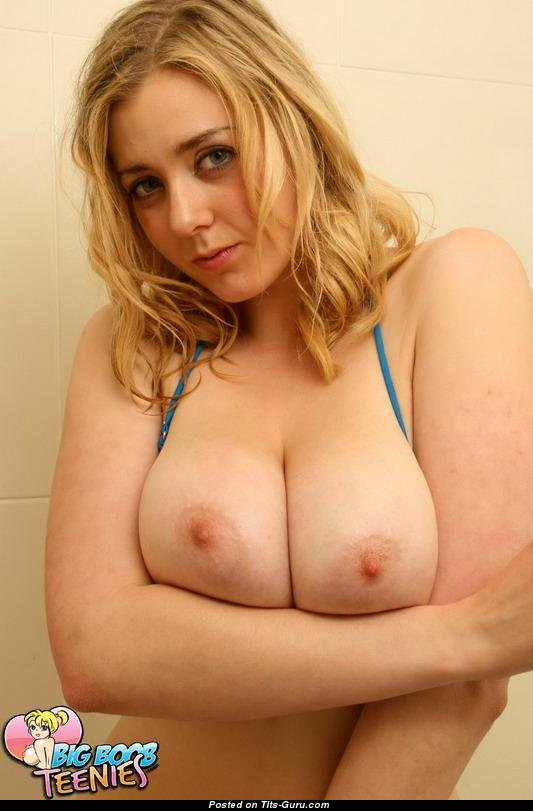 Teen with big boobs and braces