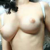 Brunette with medium natural tittes picture
