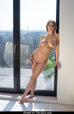 Yelena - nude wonderful female with medium natural breast picture