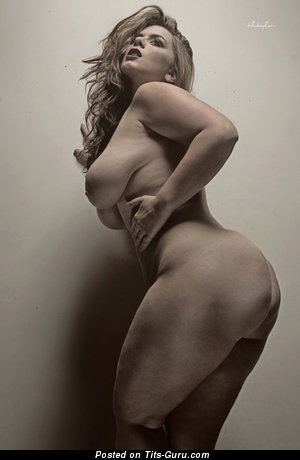 Image. Naked beautiful female with big natural boob picture