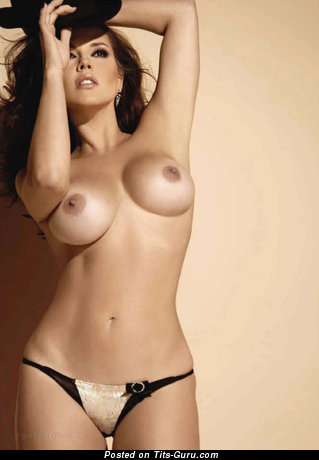 Alicia Machado - topless red hair with big tittys pic