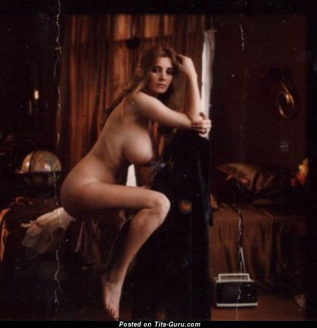 Janet Lupo - Pleasing American Woman with Pleasing Nude Natural Ddd Size Knockers (Vintage 18+ Picture)