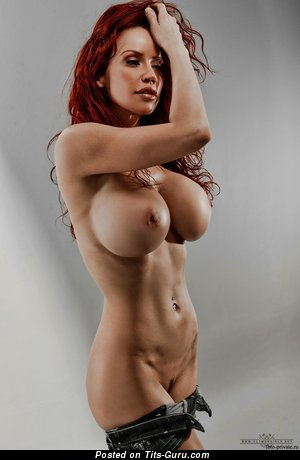 Image. Bianca Beauchamp - wonderful woman with huge fake boob picture