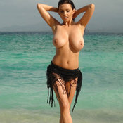 Wet hot woman with huge natural tittys picture