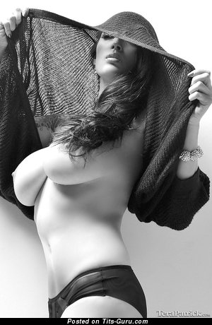Magnificent Asian Brunette Babe with Magnificent Bare Real Mid Size Titties & Inverted Nipples (Sexual Photo)