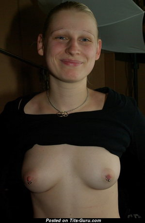Lydia Genzig - Gorgeous Unclothed Girlfriend with Piercing (Amateur Sexual Wallpaper)