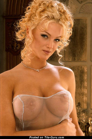 Image. Heather Kozar - sexy naked blonde with medium breast and big nipples image
