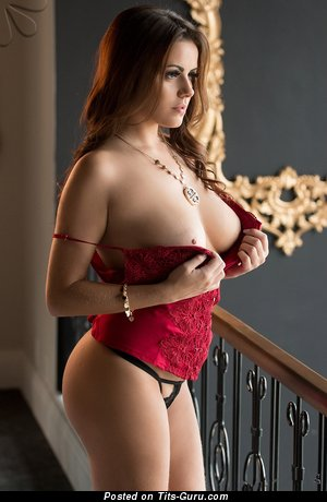Image. Izabella Morales - latina brunette with big natural tits photo