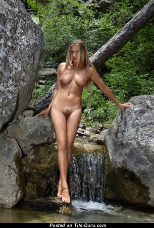 Image. Awesome lady with medium natural tittes image