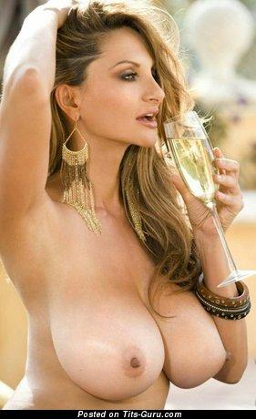 Image. Petra Verkaik - sexy naked blonde with big natural boobies pic