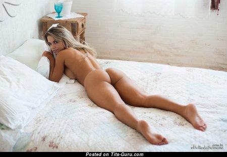 Изображение. Amanda Sagaz - фото горячей обнажённой блондинки