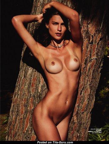 Fernanda Liz - Marvelous Undressed Brunette Babe (Hd Porn Pix)