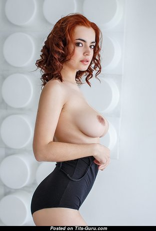 Cute Babe with Cute Defenseless Real Dd Size Tits (Sexual Image)