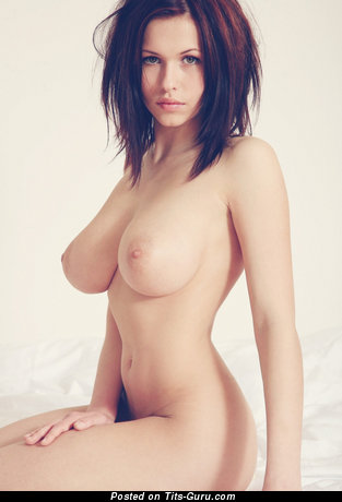 Image. Nude awesome female with big natural tots pic