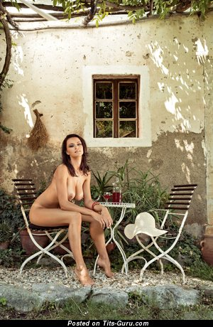 Image. Manja Dobrilovič - naked brunette with big natural tittys image